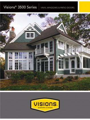 Visions®3500 Series | Vinyl Windows & Patio Doors